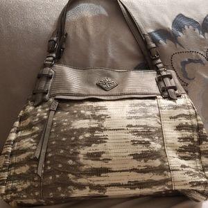 NWOT Simply Vera Large Snakeskin Shoulder Bag